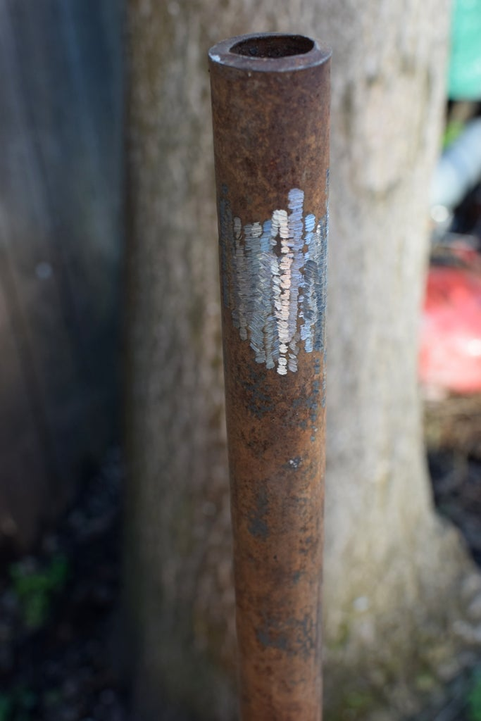 Mark Level Lines and Weld Upper Cross Members On