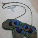 Peacock Necklace Tutorial