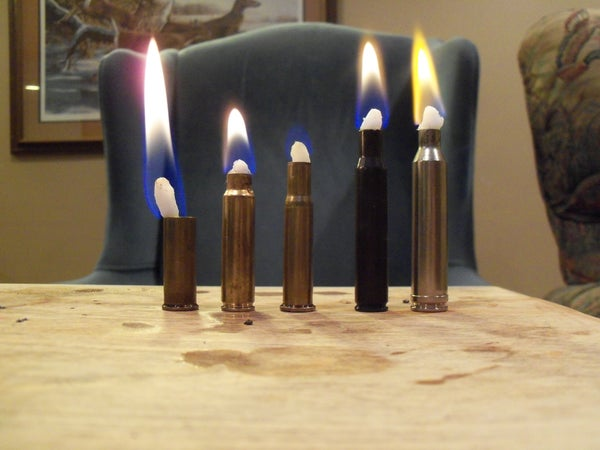 Bullet Candles
