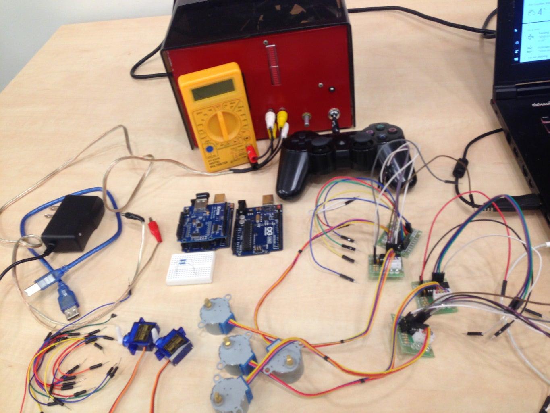 PS3&Arduino&Motors Detailed Tutorial