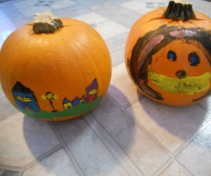 How to Paint Pumpkins for Halloween!