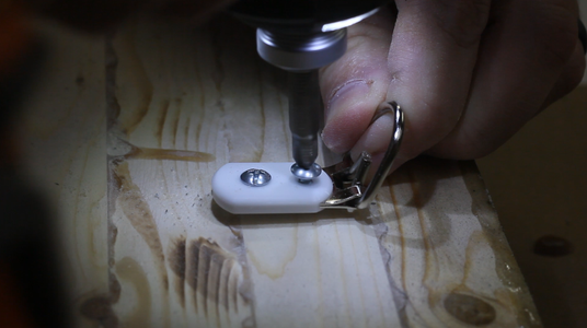 Applying Finish and D-rings