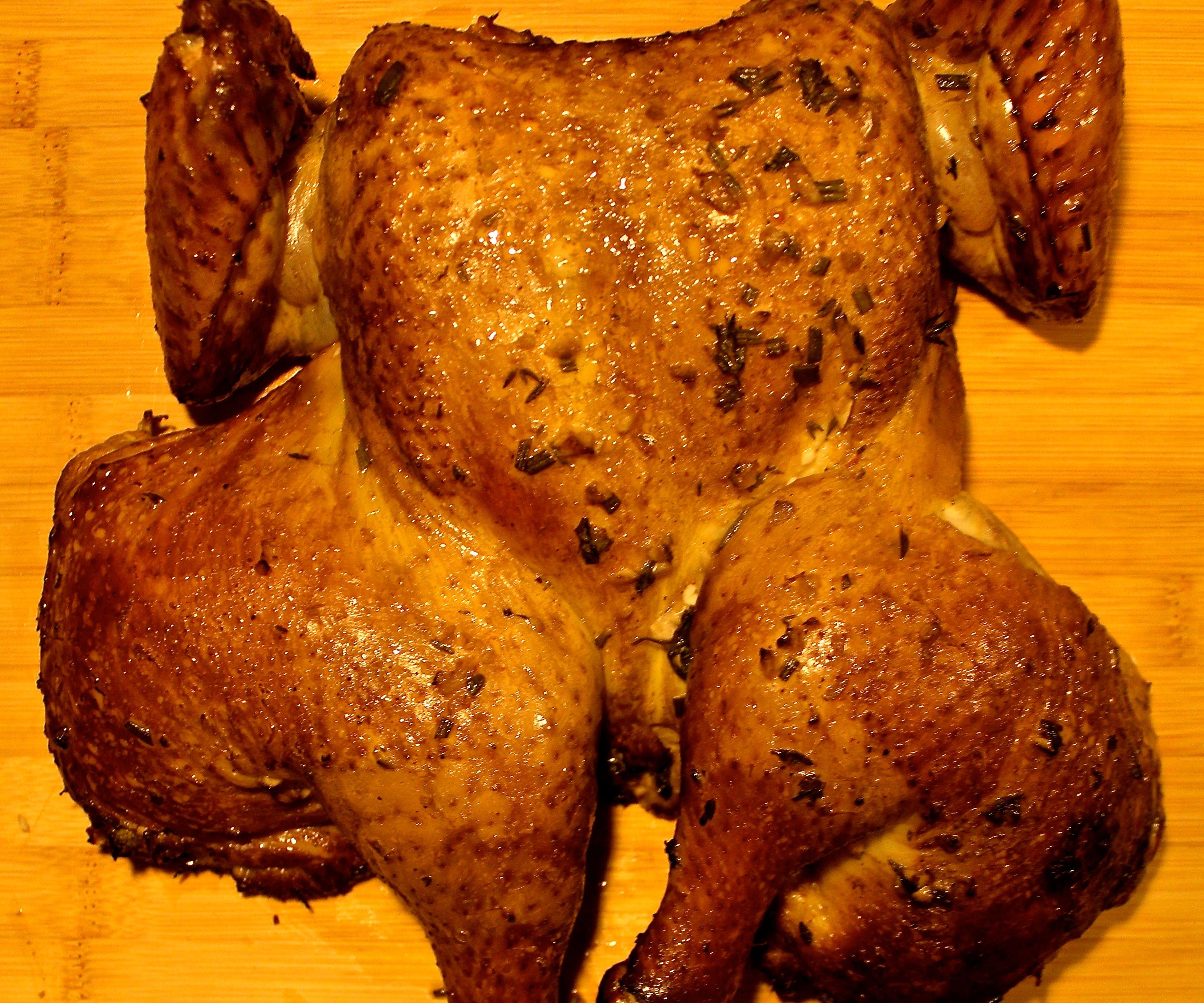 Slow-Smoked Marinated Chicken