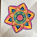 Drawing Flower Mandalas