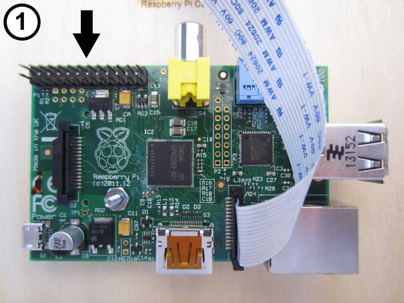 Connect the GPIO Wires