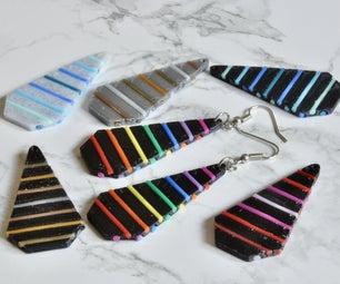 Filament Earrings