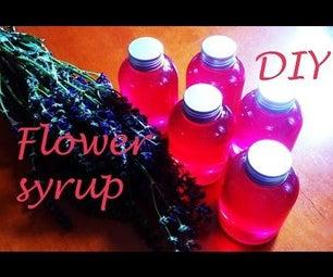 DIY: How to Make SAGE Flower Organic Syrup