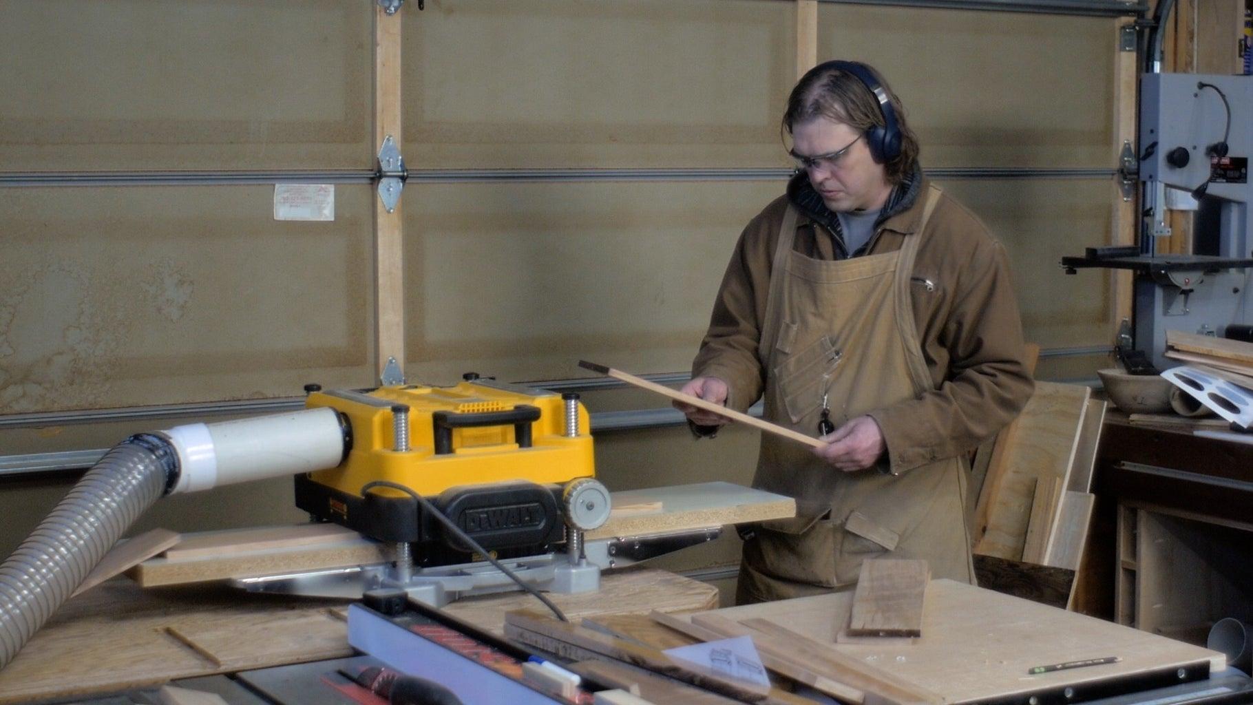 Milling Rough Lumber