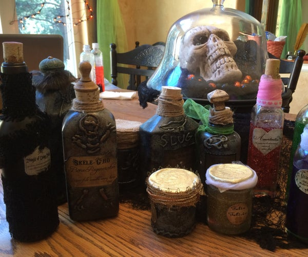 Harry Potter Apothocary Halloween Jars