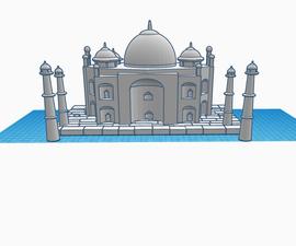 Taj Mahal in TinkerCad
