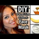 DIY Anti-Aging Facelift Facemask With 4 Ingredients │ Banana, Honey, Yogurt, & Oil