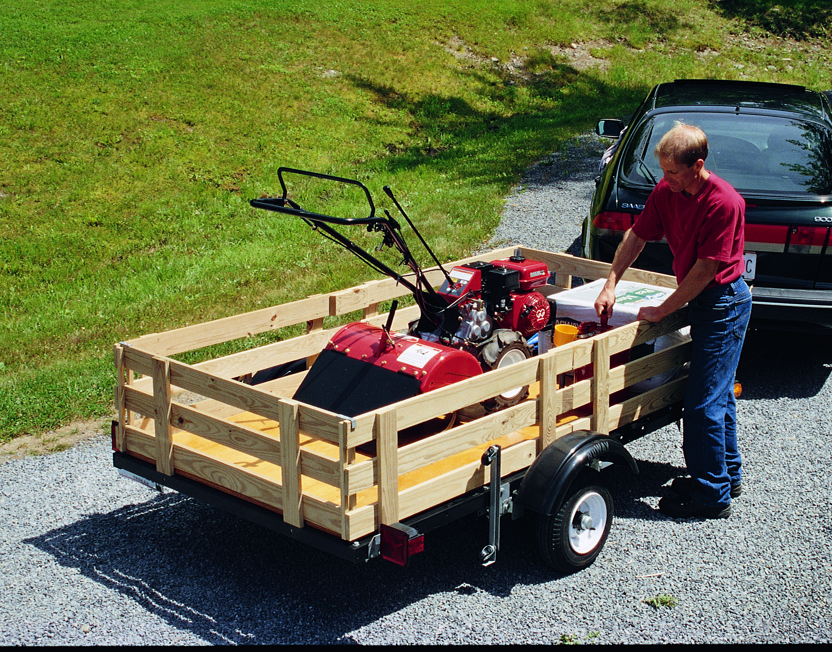 How to Build a Utility Trailer from a Kit
