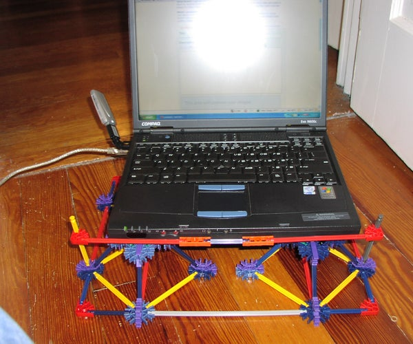 Cooling Tray for a Laptop Made Out of Knex (no Weird Peices)