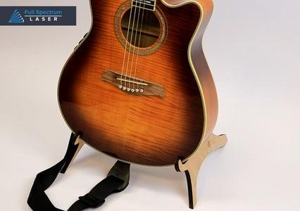 Laser Cut Guitar Stand