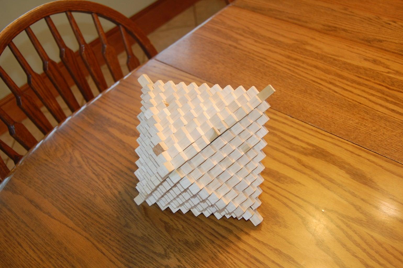3D Interlocking Wooden Puzzle Toy