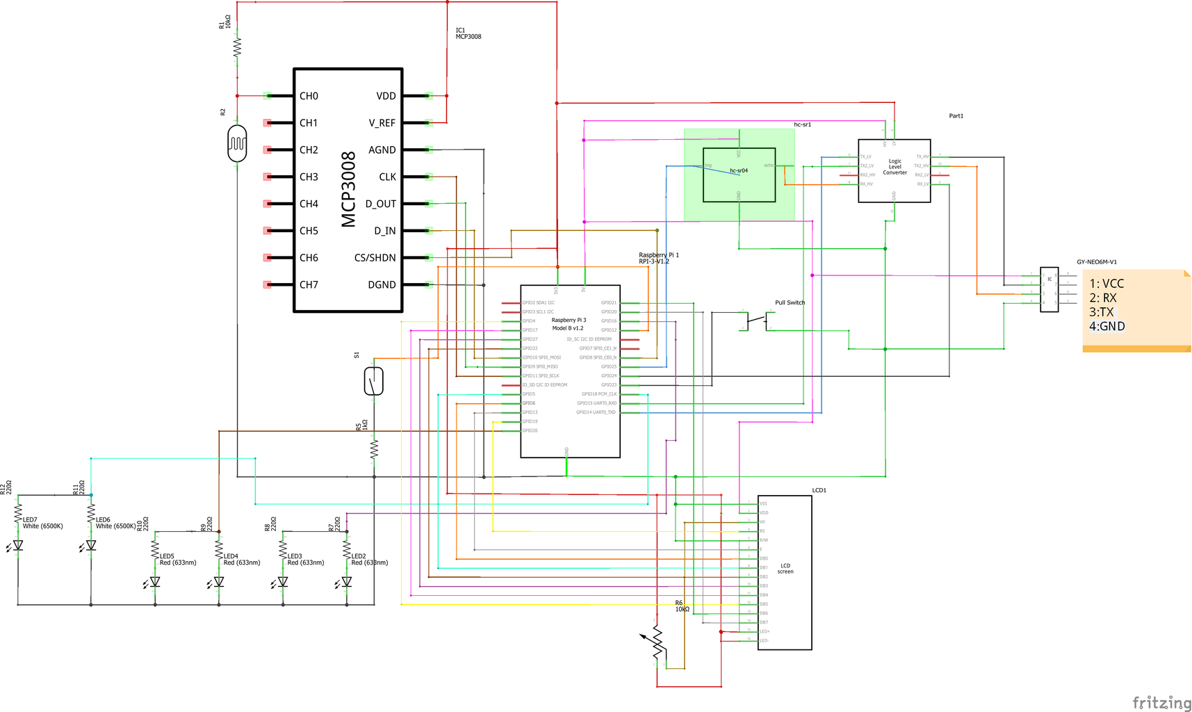 Build the Circuit on the Breadboard