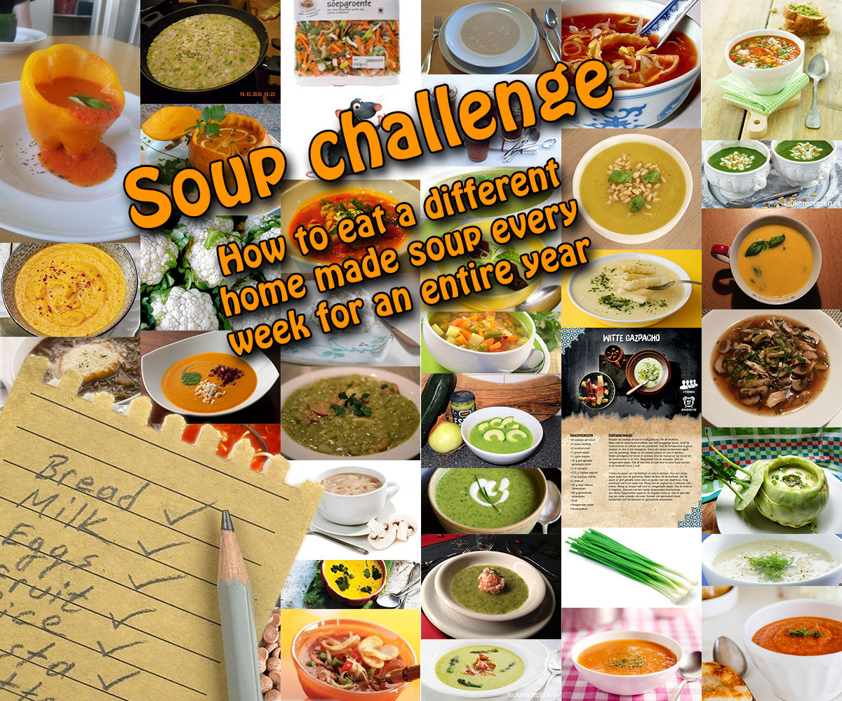 Soup Challenge - How to - 52 Weeks of Soup