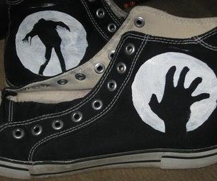Zombie Undead Shoes