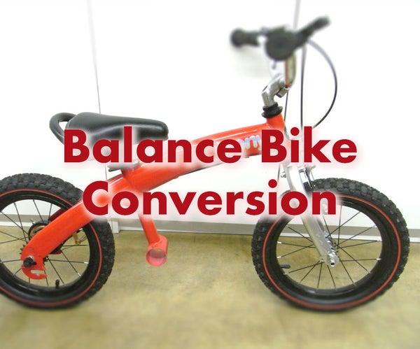 Balance Bike Conversion