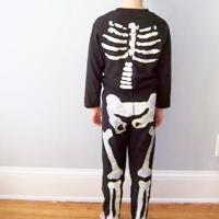 Freezer Paper Skeleton