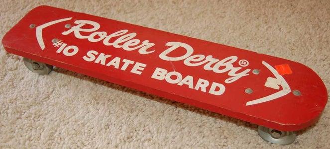 Roller Derby #10 Look-a-Like Vintage Skateboard