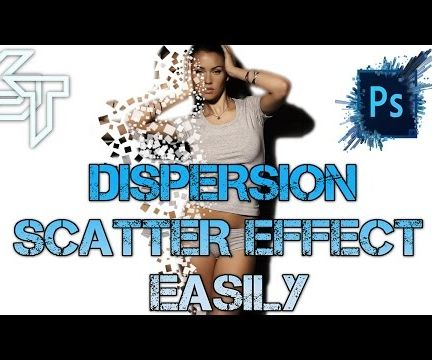 Dispersion Scatter Effect - Photoshop Tutorial