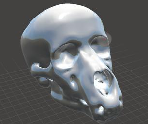 How to Model an Anthropomorphic Skull in Meshmixer