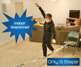 How to Build an Indoor Slackline With 5 Easy Steps!