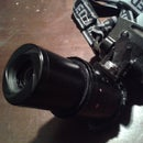 How to Make a Variable Zoom Head Lens From a Photocamera's Telescopic Lens