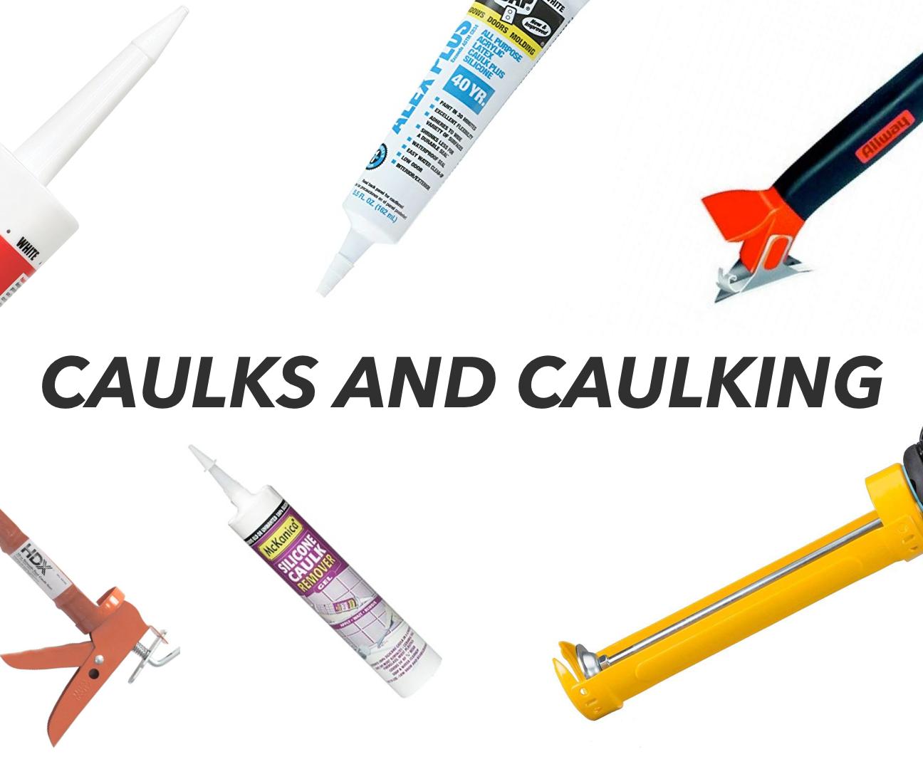 All About Caulk and Caulking