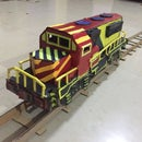 DIY Cardboard Train Engine