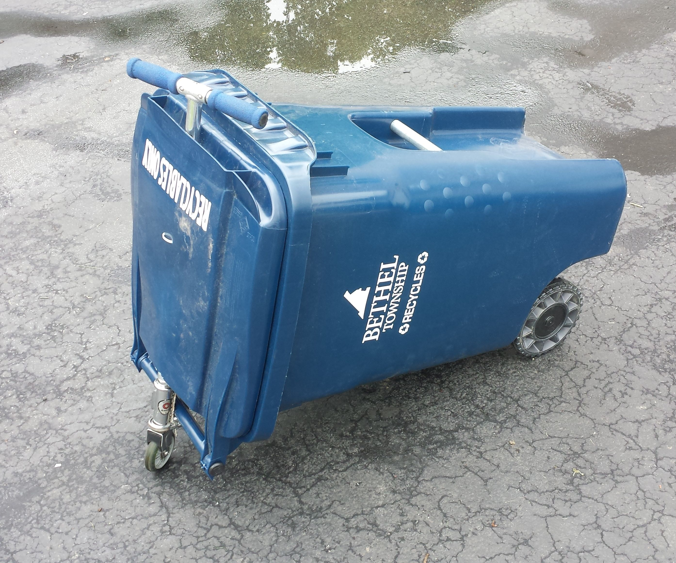 Rideable Trash Can 2.0