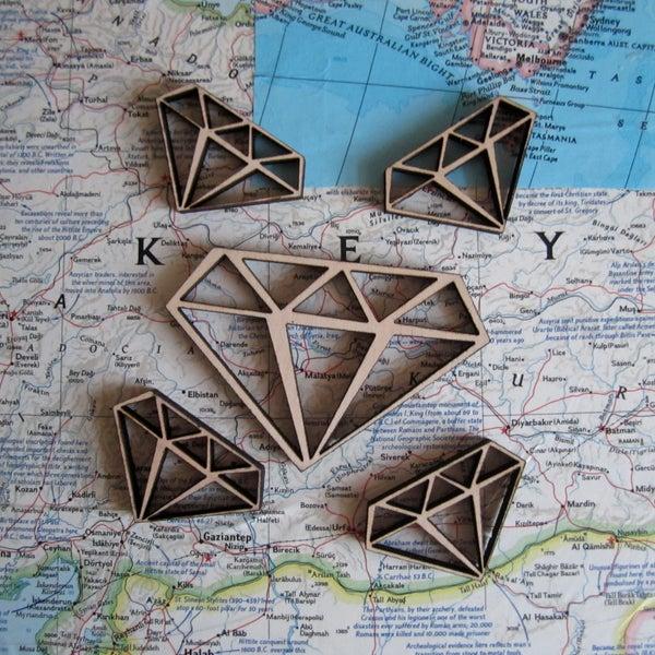 Lasercut Diamonds