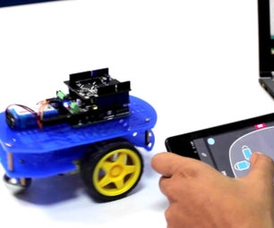 Control Arduino RC Car Using Android Phone & 1Sheeld