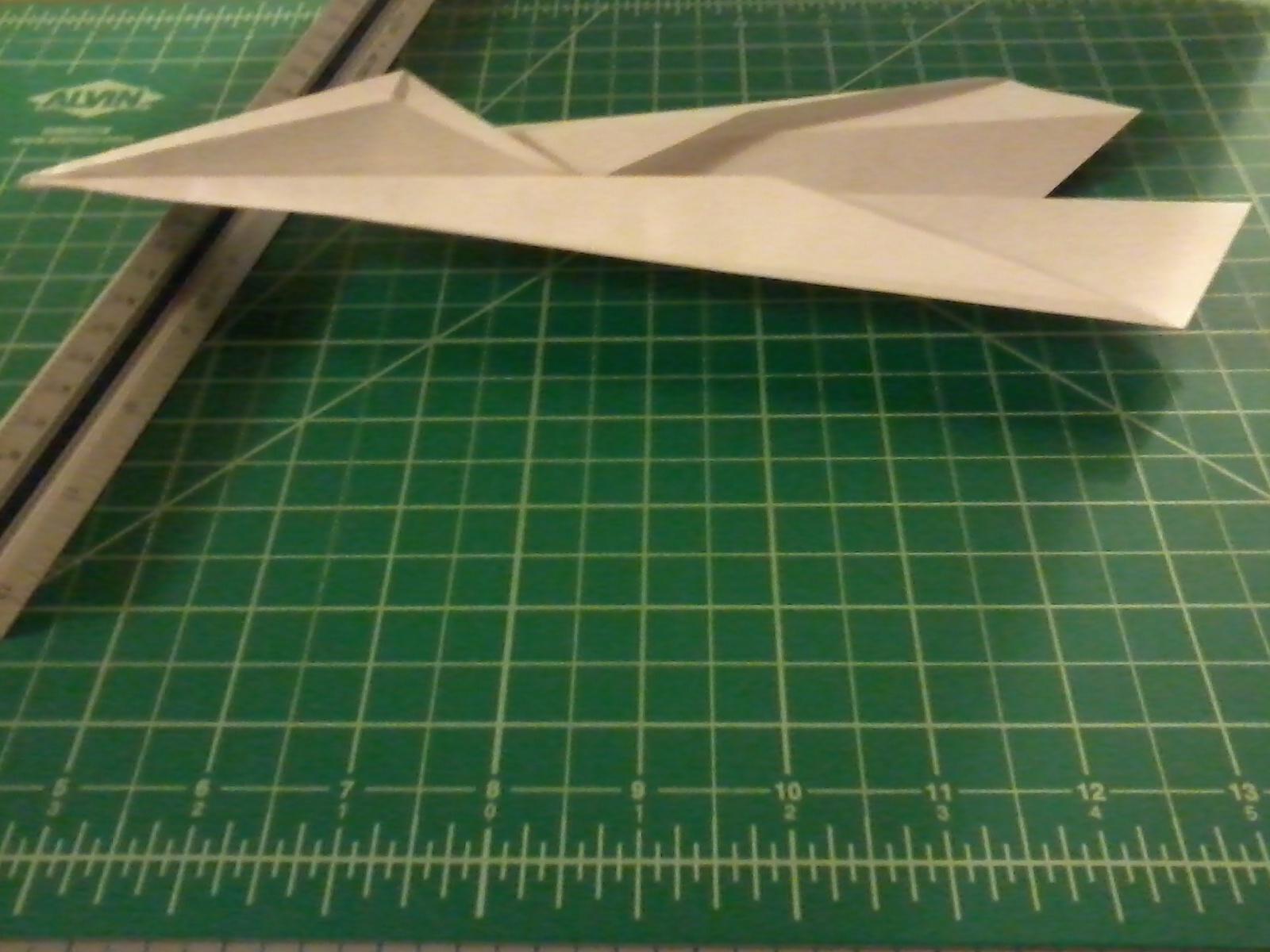 Blackbird Paper Airplane
