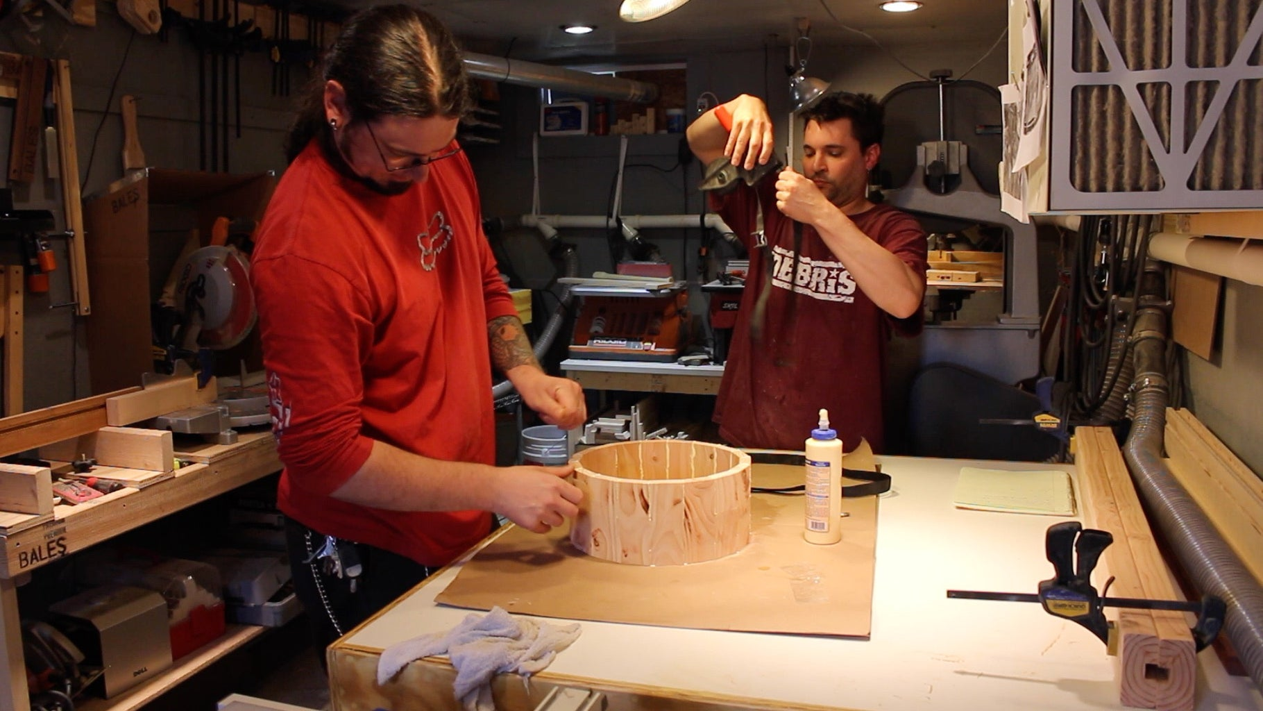 Gluing Up the Shell