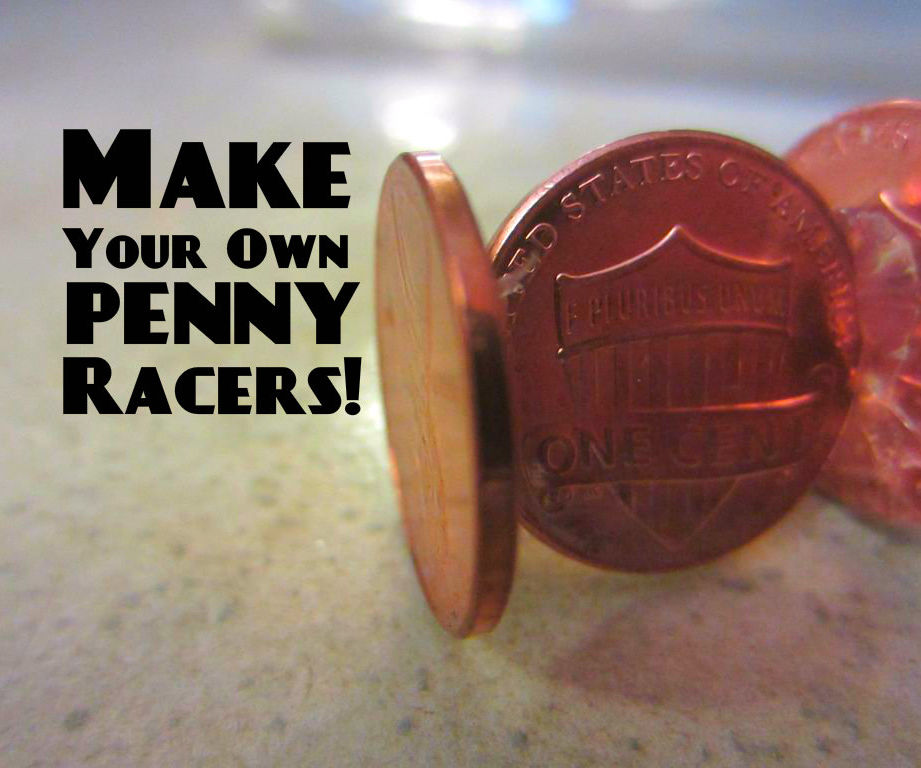 Penny Racers: Build Your Own 3¢ Lincoln!