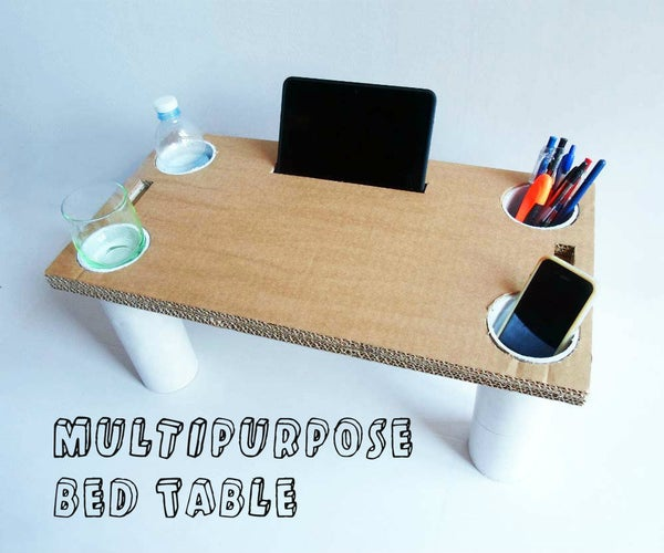 Multipurpose Bed Table