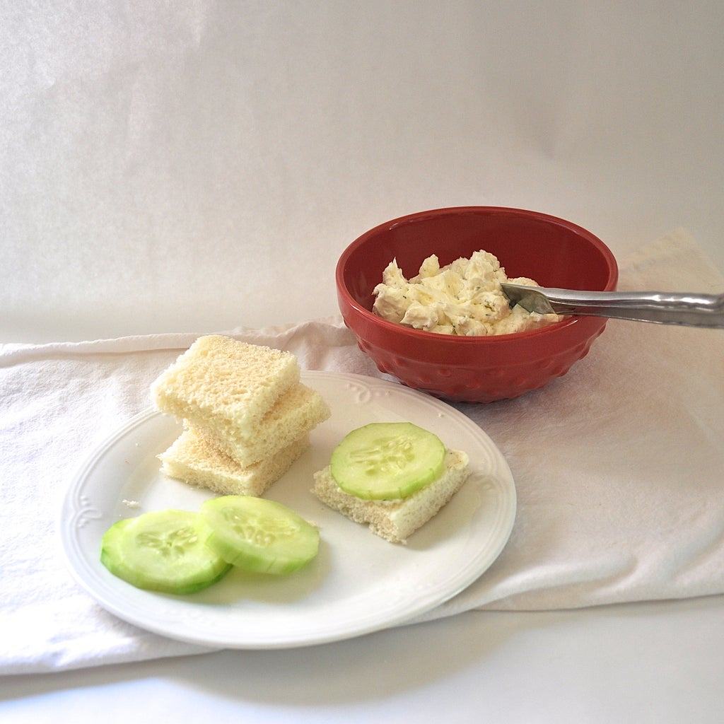 Mix Spread and Assemble Sandwiches