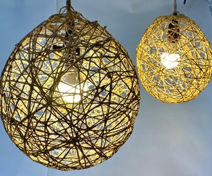 """String Pendant Lights (as Seen on """"Making It"""")"""