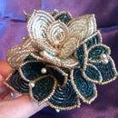 Beaded Wedding Bouquet