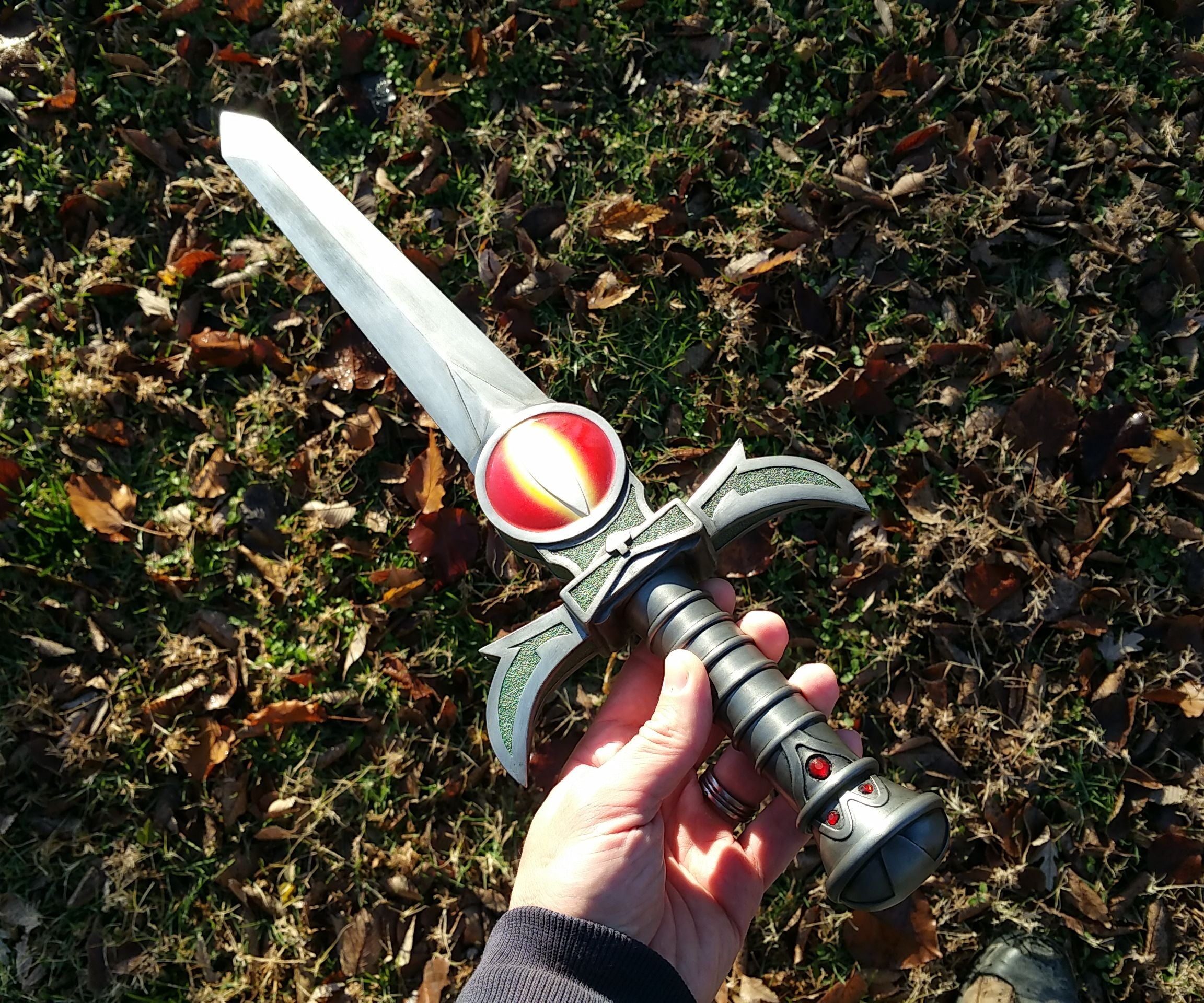 Thundercats Sword of Omens in Dagger and Sword form for laser cutting SVG