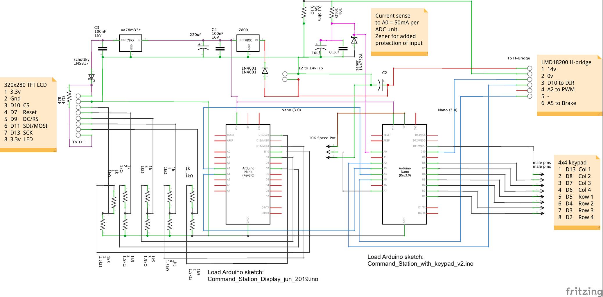 Arduino Nano With Keypad