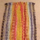 Upcycled Fabric Scraps Rag Rug