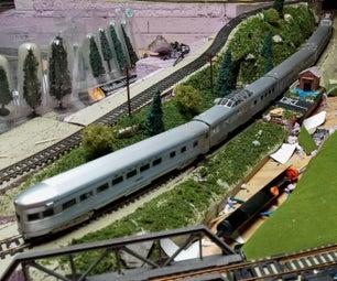 模型列车灯