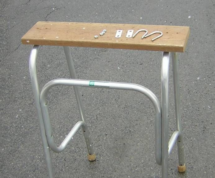 Outboard Motor Stand From Walker