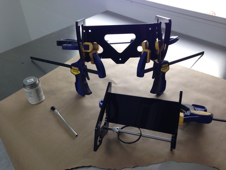 Laser-cut and Assemble the Conveyor Module
