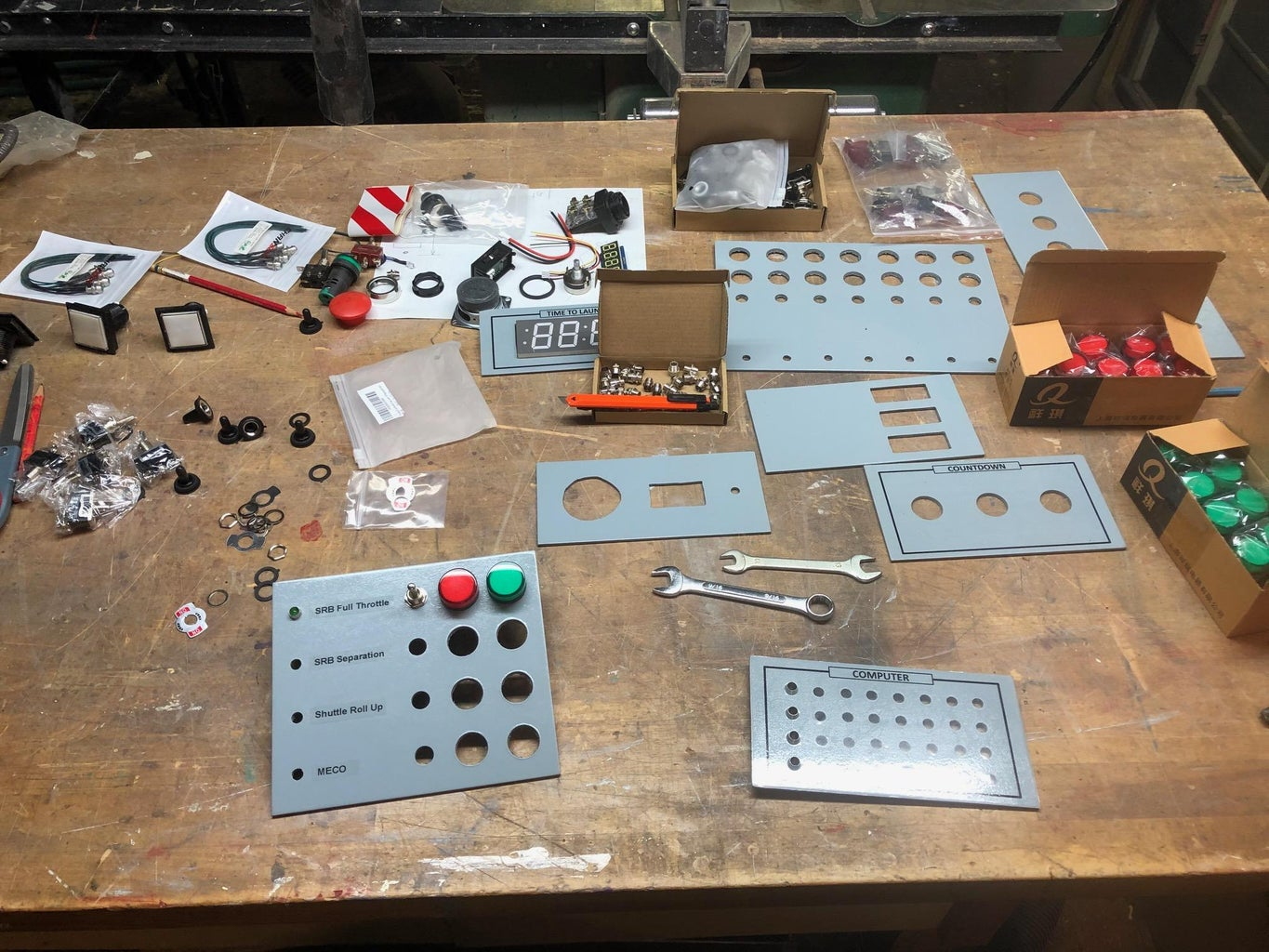 Individual Panels and Electronic Components