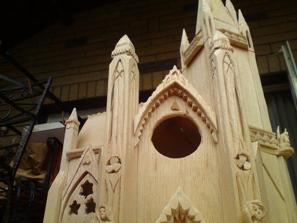 Gothic Birdhouse Design