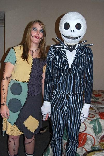 Jack Skellington & Sally Costumes!